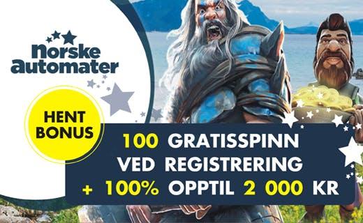 Norskeautomater casinobonus