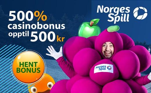 Norgesspill casinobonus