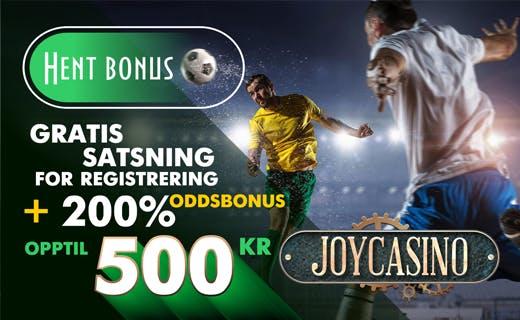 Joycasino Sports oddsbonus