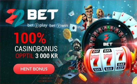 22Bet casinobonus1