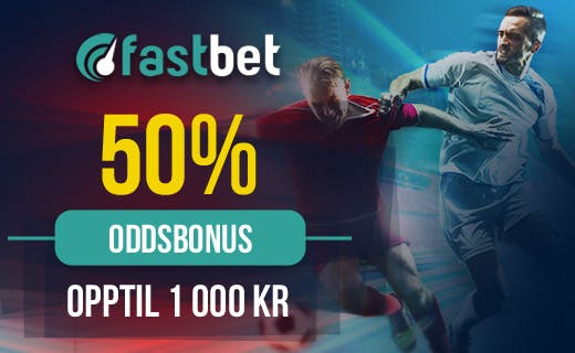 Fastbet betting bonus Norge