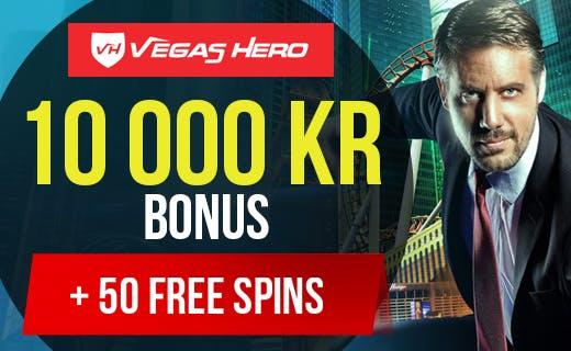 Vegas hero tilbud