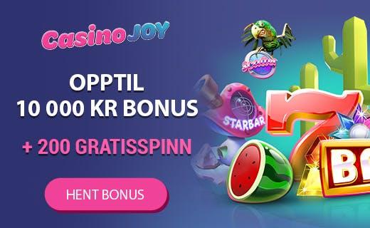Casinojoy nytt casino