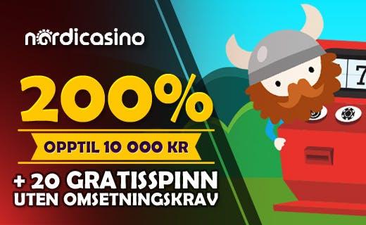 Nordicasino tilbud