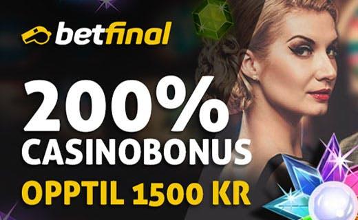 Betfinal casino bonus