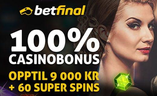 Betfinal norske casino