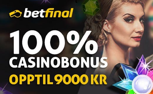 Betfinal onlinecasino bonus