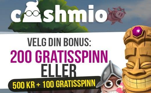 Cashmio norsk bonus