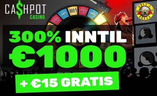 Cashpot nye norske casino