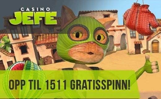 Casino JEFE nytt norsk casino 2016