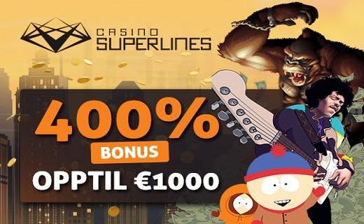 Casino Superlines velkomstbonus