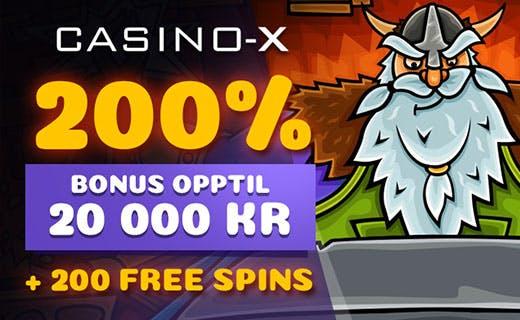 Casino X nye tilbut