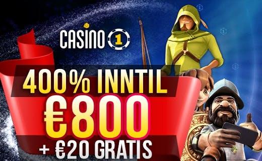 Casino1 club gratis penger