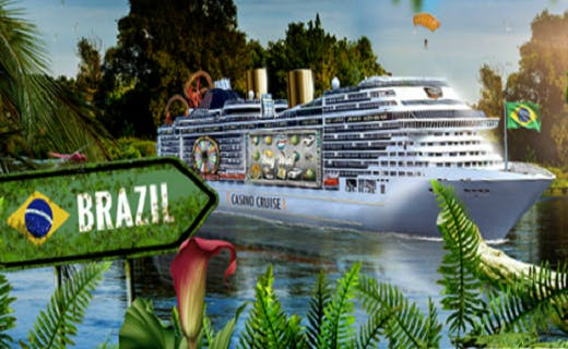 CasinoCruise Dream Vacation promo Brazil