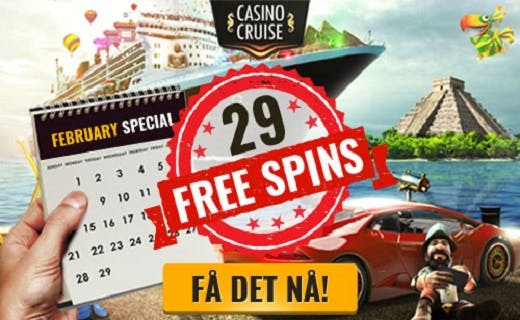 CasinoCruise February Campaign Norway 2