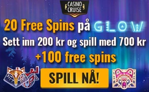 CasinoCruise exclusive bonus Norway