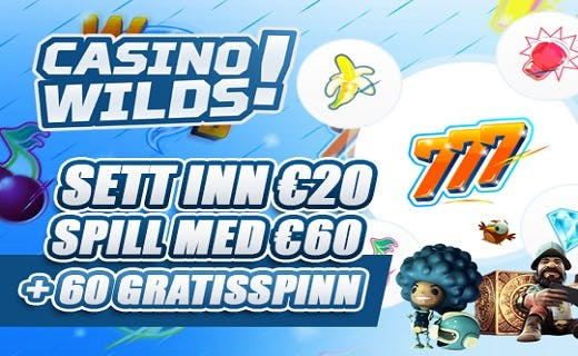 CasinoWilds gratis spinn