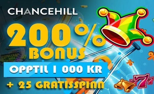 Chance Hill casino bonus