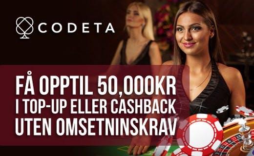 Codeta casino norge