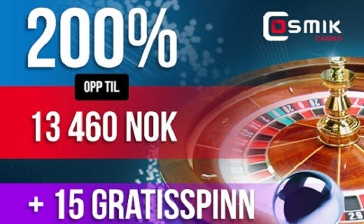 Cosmik free spins 2016