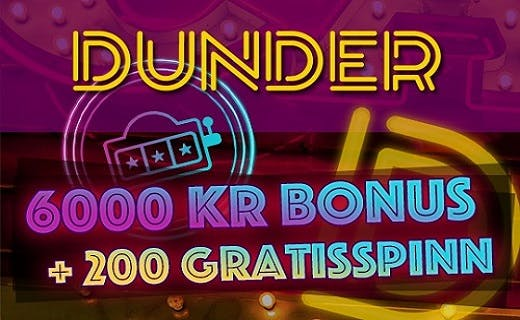 Dunder norsk casino 2016