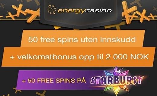 EnergyCasino norsk casino