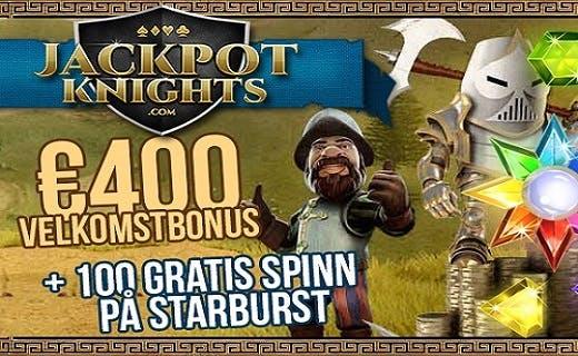 Jackpot Knights nye norske casino 2016