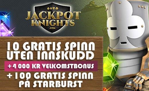 JackpotKnights norsk casino