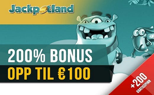 Jackpotland norsk casino bonus 2015