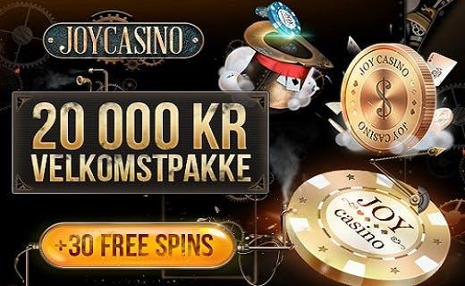 JoyCasino nye casino 2016