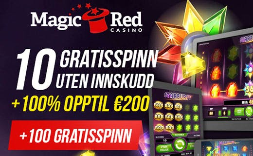 Magic Red norsk casino