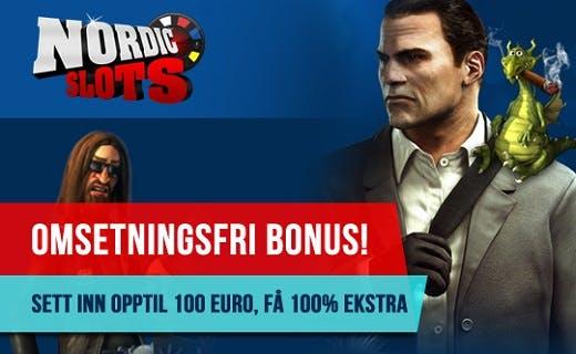 NordicSlots gratis spinn