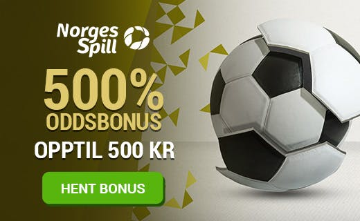 NorgesSpill norsk odds bonus