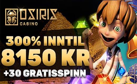 Osiris casino gratisspinn