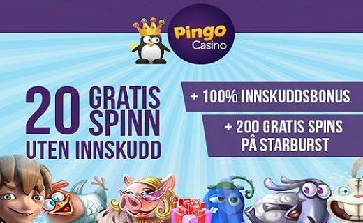 PingoCasino gratisspinn