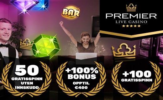Premier Live bonus Norge