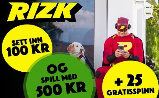 Rizk norsk nettcasino1
