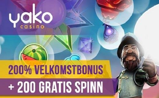 Yako norske casino