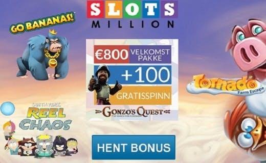Slotsmillion nytt norsk casino