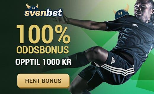 Svenbet norsk odds bonus