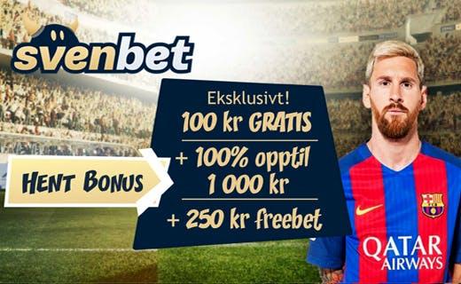 Svenbet odds