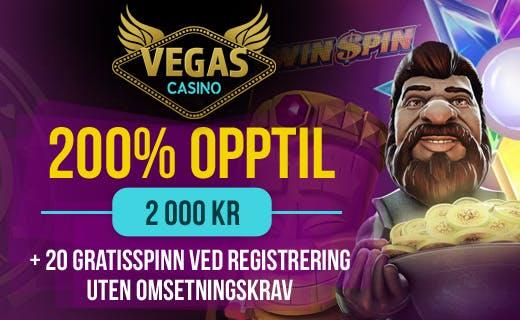 Vegas casino tilbud