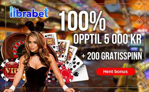 Librabet norske casino