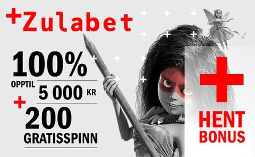 ZulaBet norsk casino