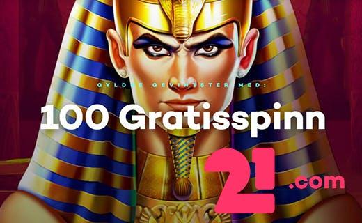 21.com 100 gratisspinn