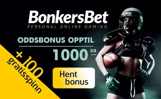 BonkersBet odds