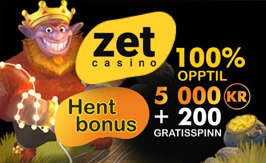 ZetCasino casinobonus