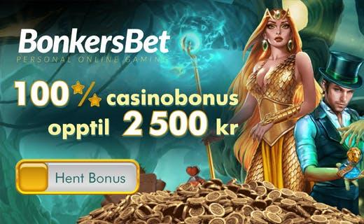Bonkersbet casinobonus