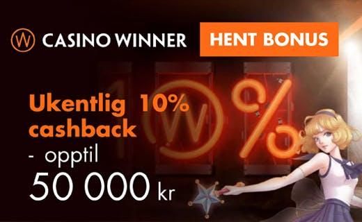 Casino winner bonus