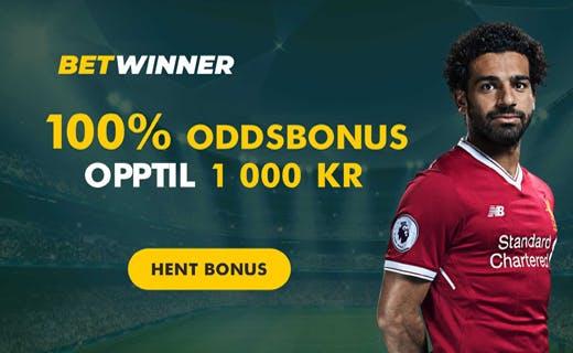 Betwinner.com odds bonus
